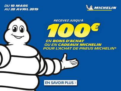 Offre pneumatique Michelin